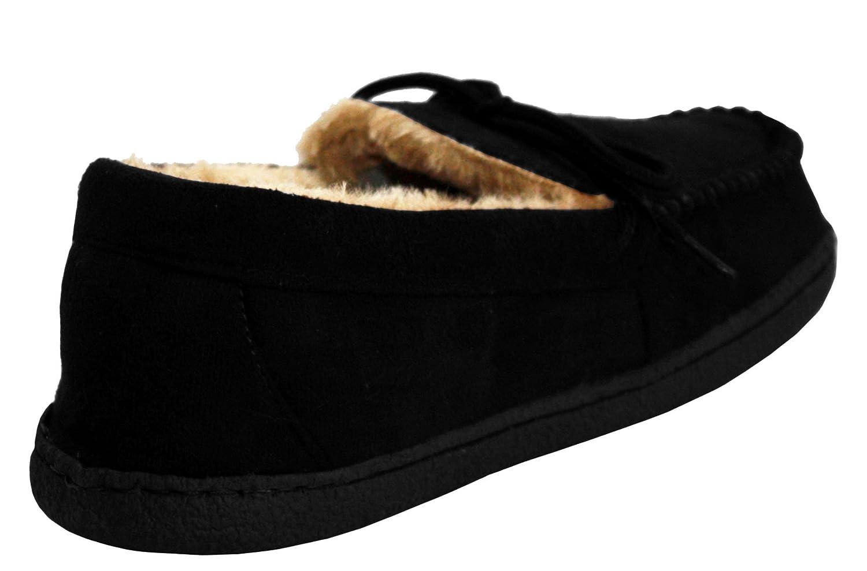 Pantofole da leggere comode pelliccia foderate uomo invernali con rRnxTrq
