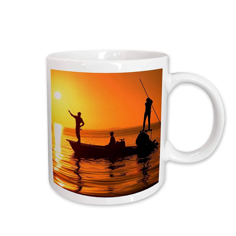Buy 3drose Flatboat Fly Fishing Islamorada Florida Keys Ceramic Mug 11 Oz Online At Low Prices In India Amazon In