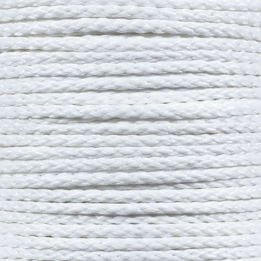 50 3//8 inch Diameters 5//16 White Hollow Braid Polypropylene Barrier Rope Available in Lengths of 10 25 1//4 100 Feet Golberg 3//16