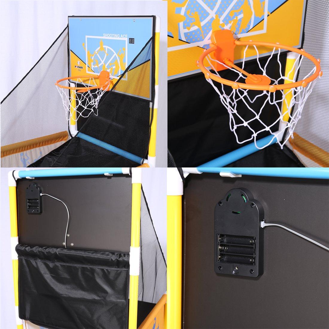 PINCHUANGHUI Automatic Scoring Basketball Shooting Machine Kids Teenagers Shooting Hoop by PINCHUANGHUI (Image #5)
