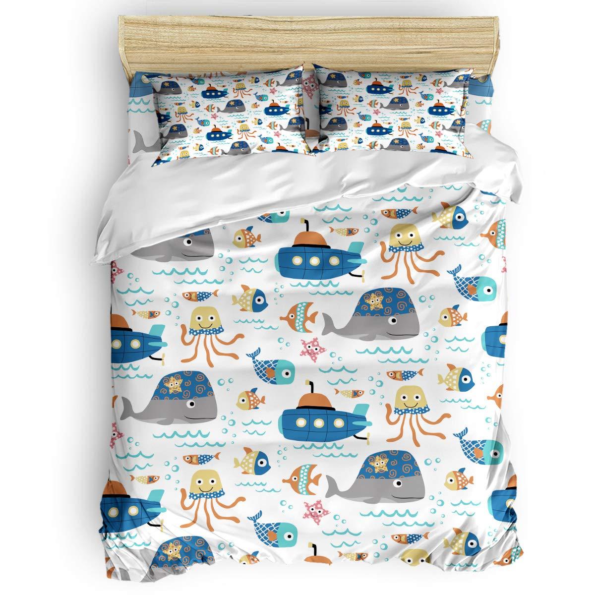 掛け布団カバー 4点セット レトロな世界地図木の板 寝具カバーセット ベッド用 べッドシーツ 枕カバー 洋式 和式兼用 布団カバー 肌に優しい 羽毛布団セット 100%ポリエステル セミダブル B07TG8TM1R Animal-019LAS6896 セミダブル