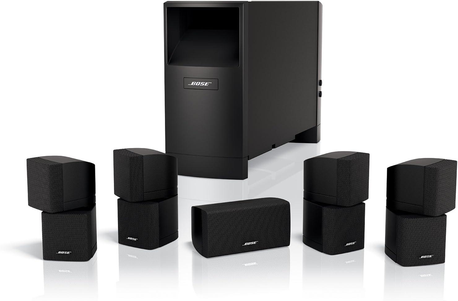 Amazon.com: Bose Acoustimass 10 Series IV Home Entertainment Speaker System  (Black): Home Audio & TheaterAmazon.com