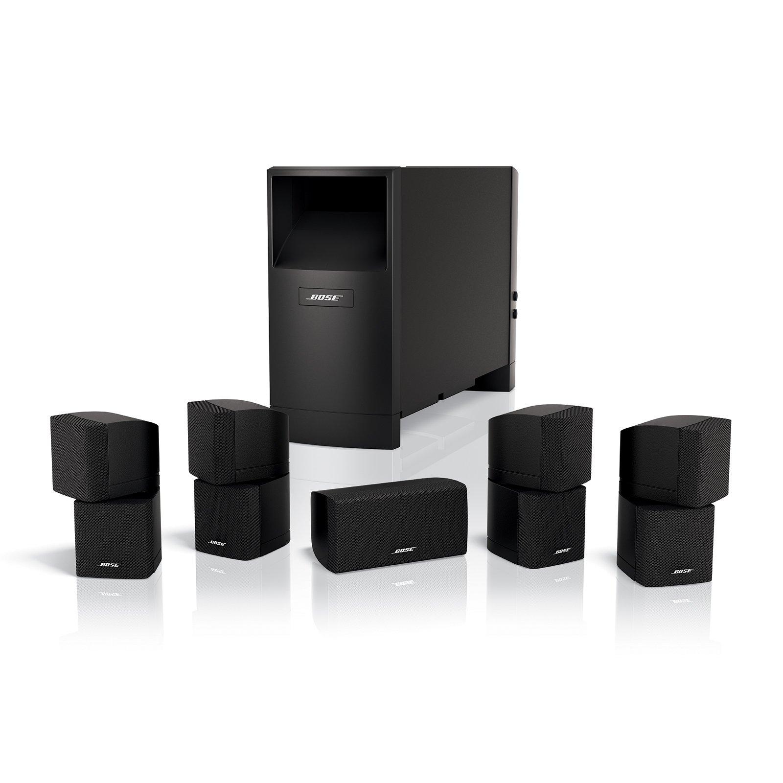 Bose Acoustimass 10 Series IV Home Entertainment Speaker System (Black)