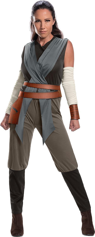 Rubies-d/éguisement officiel ST-820694S Star wars-D/éguisement Rey adulte-Taille S