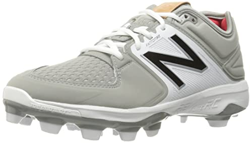 340e4f9ce4a4 New Balance Men's 3000v3 Baseball TPU Cleat, Grey/White, 6.5 2E US ...