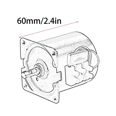 60ktyz 220v Synchronous Motor 14w Permanent Magnet Motor Large