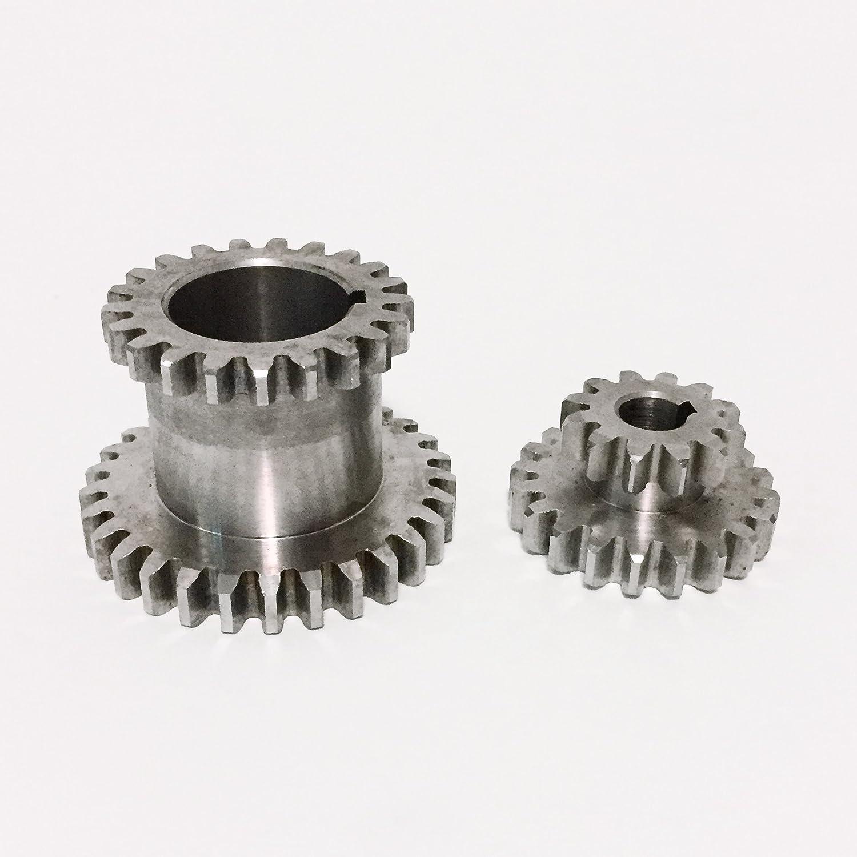 2pc/set cj0618 torno de recambio Engranajes dientes T29 X T21 T20 x T12, Metal Shanghai