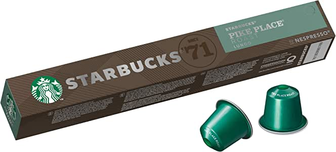 Starbucks by Nespresso Pike Place (10 Coffee pods)