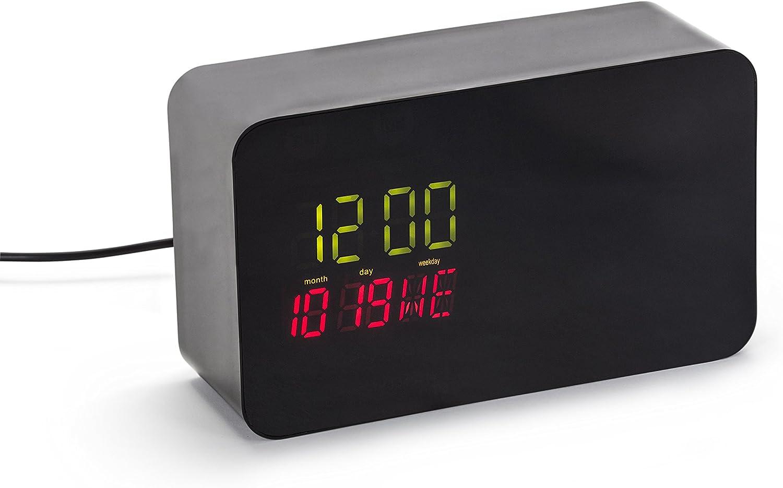 Hidden Dropcam Pro Enclosure Nest Cam Indoor Clock Case Black