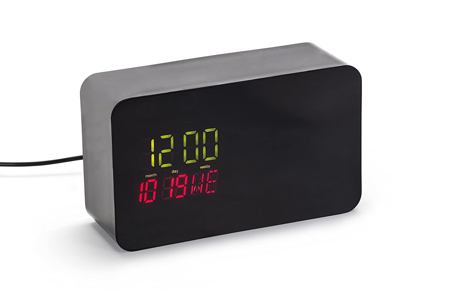 Hidden Clock Case compatible with Yi Home Camera - Hidden Yi Home Camera Enclosure - The perfect way to hide your Yi Home Camera (Yi Home Camera not included)