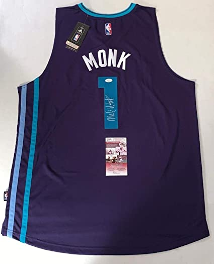 b5061f0e85e Malik Monk Autographed Jersey - Adidas Swingman - JSA Certified -  Autographed NBA Jerseys
