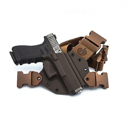 Amazon.com : GunfightersINC Kenai Chest Holster for Glock 19/23/32