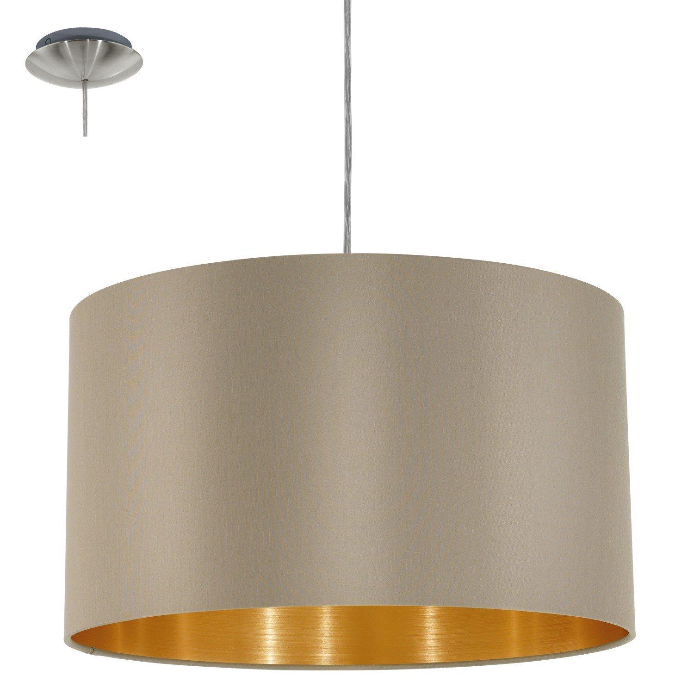 Eglo, Lampada A Sospensione 3 Luci, Oro: Amazon.it: Illuminazione
