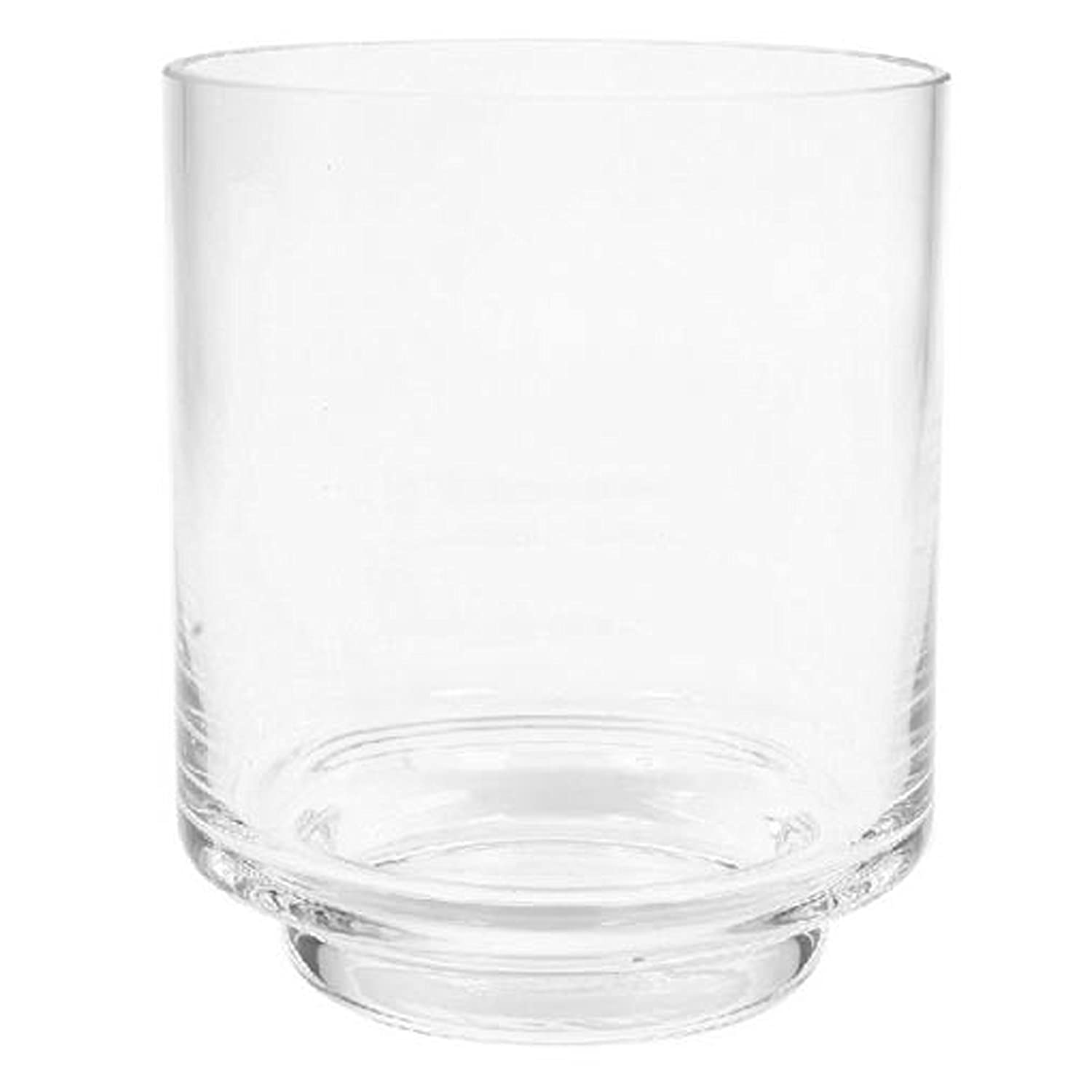 Hosley's 4.5 High, Glass Pillar/Votive Candle Holder. Ideal Gift for Weddings, House Warming, Home Office, Spa, Votive/Pillar Candle Garden. P1 Hosley' s 4.5 High HG Global
