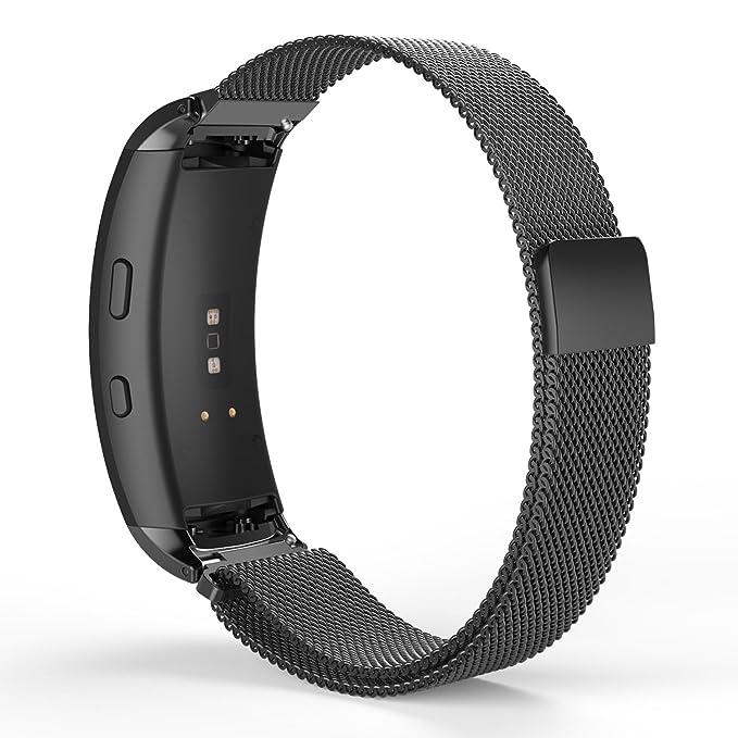 MoKo correa de reloj de acero inoxidable para Samsung Gear ...