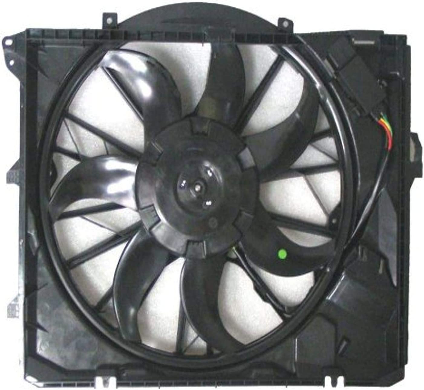 DEPO 344-55016-100 Replacement Engine Cooling Fan Assembly (This product is an aftermarket product. It is not created or sold by the OE car company)