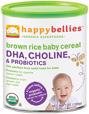 Happy Family happy bellies Baby Cereal Review