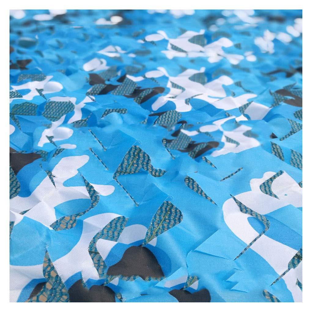 Filet de camouflage Filet de camouflage Ocean filet de camouflage Trois couches de filet de camouflage épaissi Convient pour le camping caché chasse décoration crème solaire décoration de fête Hallowe  36m