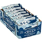 MEG - Military Energy Gum | 100mg of Caffeine Per Piece + Increase Energy + Boost Physical Performance + Arctic Mint 24 Pack