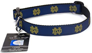 product image for All Star Dogs Notre Dame Ribbon Dog Collar