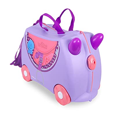 8ad60e724 Trunki Children's Ride-On Suitcase & Hand Luggage: Bluebell Pony (Purple)