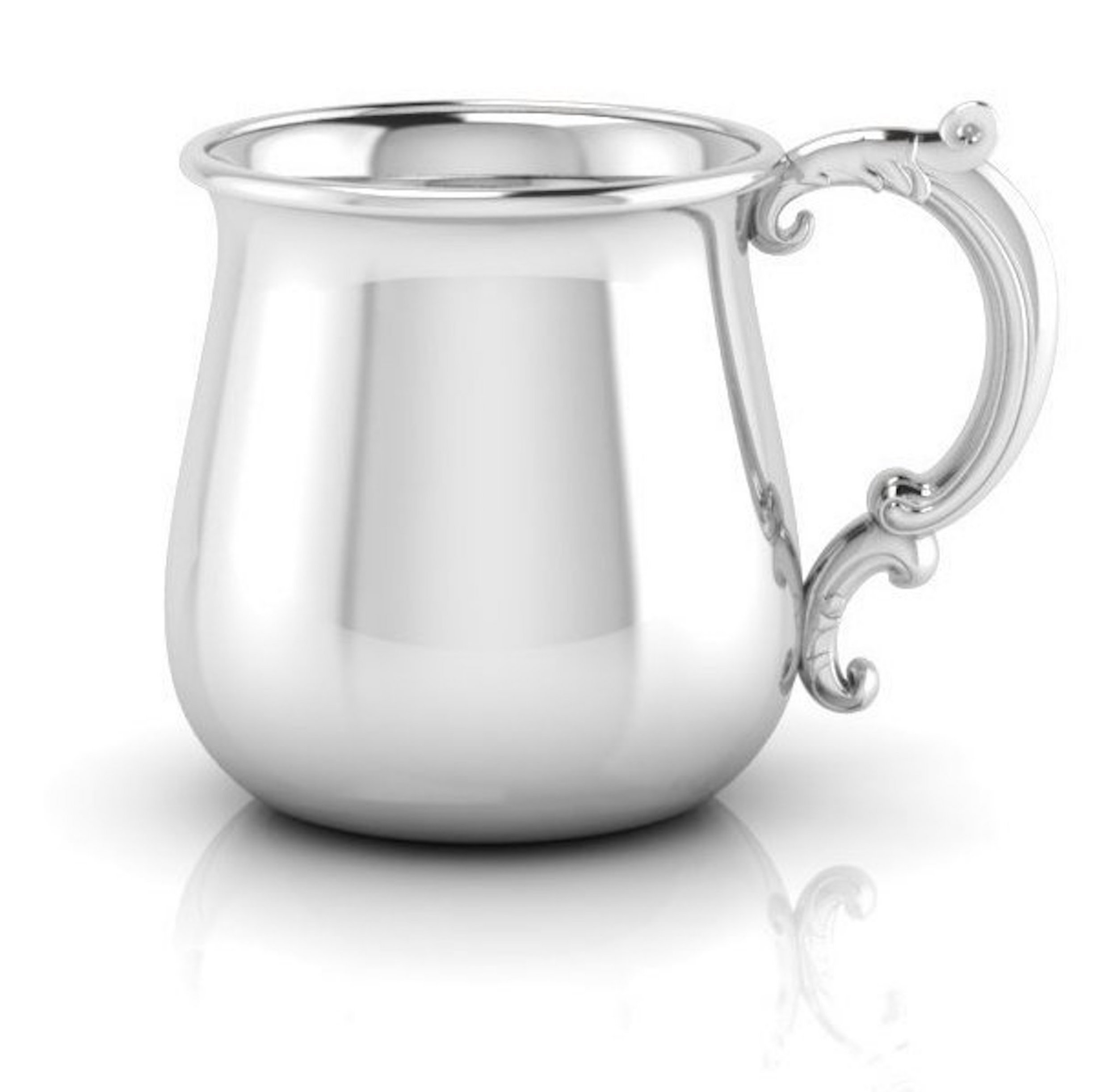 Krysaliis Sterling Silver Baby 5 Ounce Traditional Bulge Victorian Cup