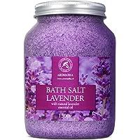 Badzout Lavendel 1300g - Droge Huid - Spierpijn - Vermoeidheid - Huidverzorging - Aromatherapie - Anti-Stress - Bad…