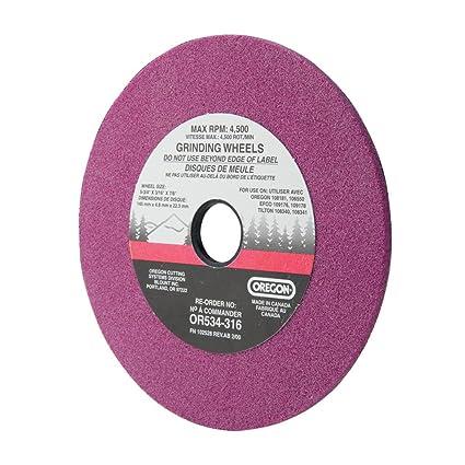 Amazon.com: Oregon or534 – 316 – 3/16 rueda de molienda para ...