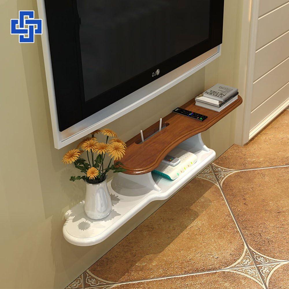 Decoración de pared ZHANGRONG- Descodificador Europeo Colgar En La Pared TV Cabinet \ Rack De Almacenamiento Enrutador Partición De Gabinete De Televisión Rural Estante De Pared (Tamaño : 960cm): Amazon.es: Hogar