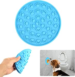 Tuuzeo Slow Feeder Dog Bowls, Lick Mat for Dogs Paw-Shaped Calming Pet Pad for Anxiety Relief, Lick Mat Dog Cat New Version Perfect for Dog Food, Cat Food, Peanut Butter or Yogurt