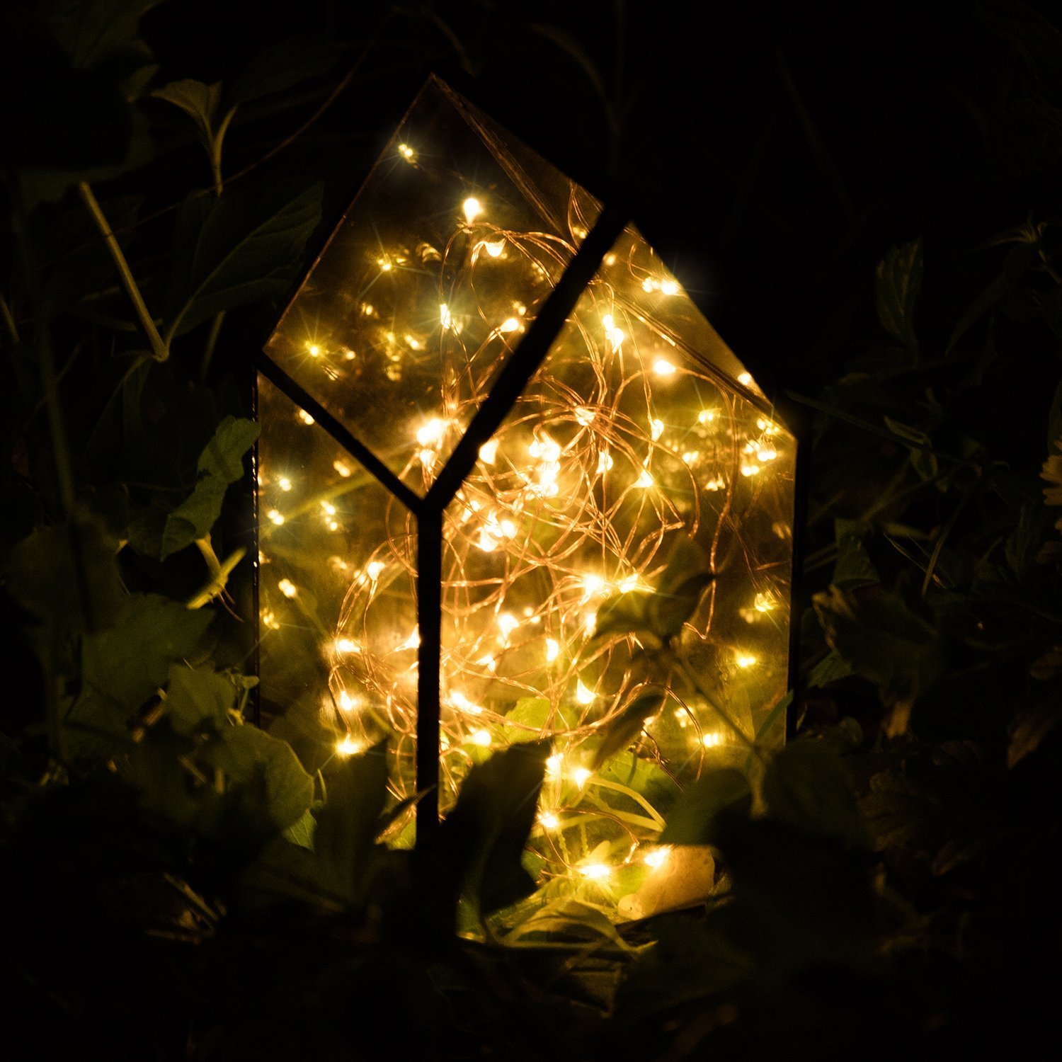 This controller lets you control 4 different branches of lights - Kohree 60leds String Lights With Remote Control Aa Battery Powered On 20ft 6m Long Ultra Thin String Copper Wire Seasonal Decor Rope Lights For Wedding