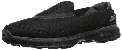 Skechers Performance Womens Go Walk 3 Unfold Walking Shoe,Black,5 M US