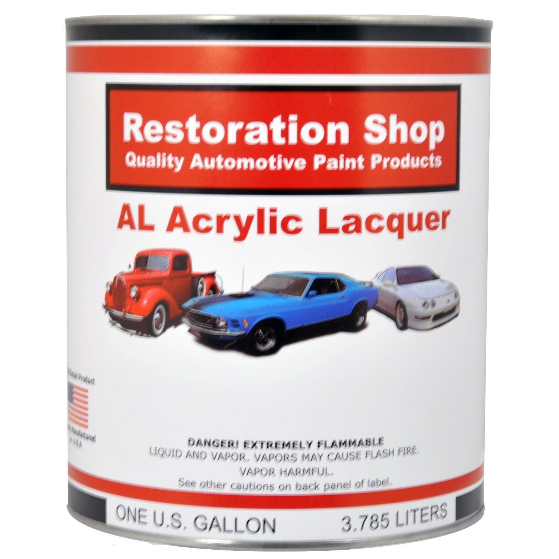 Restoration Shop - Complete Medium Gallon Kit - CHARCOAL GRAY FIREMIST Acrylic Lacquer Single Stage Car Auto Paint