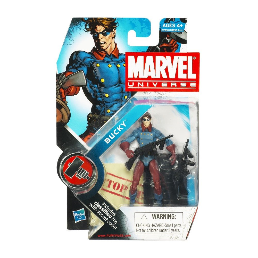 Marvel Universe 3 3//4 Inch Series 2 Action Figure Classic Bucky Hasbro Toys 653569478171