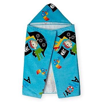 kids hooded beach towels. Koala Kids Hooded Beach Towel - Pirate Ship Towels