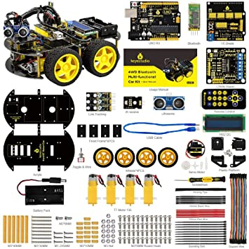 KEYESTUDIO Smart Robot Car Kit UNO R3 Starter Kit: Amazon.de ...