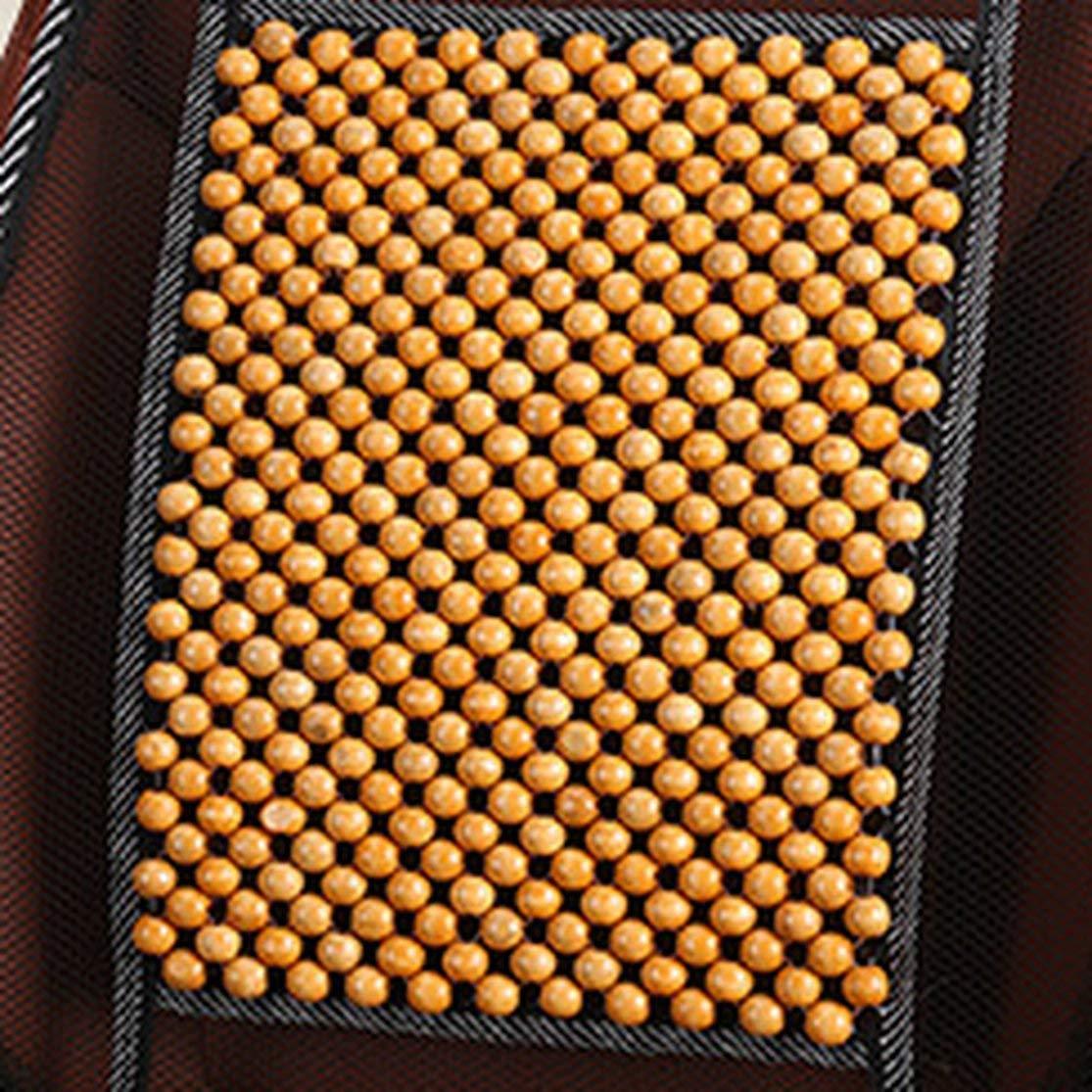 LouiseEvel215 Tapis de Maille de Coussin de Refroidissement /ét/é de Couverture de si/ège de Voiture de Perles de Massage Universel