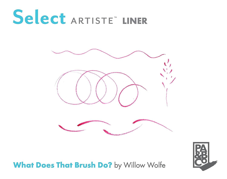 Princeton Artist Brush Select Synthetic Brush Petite Round Size 20//0