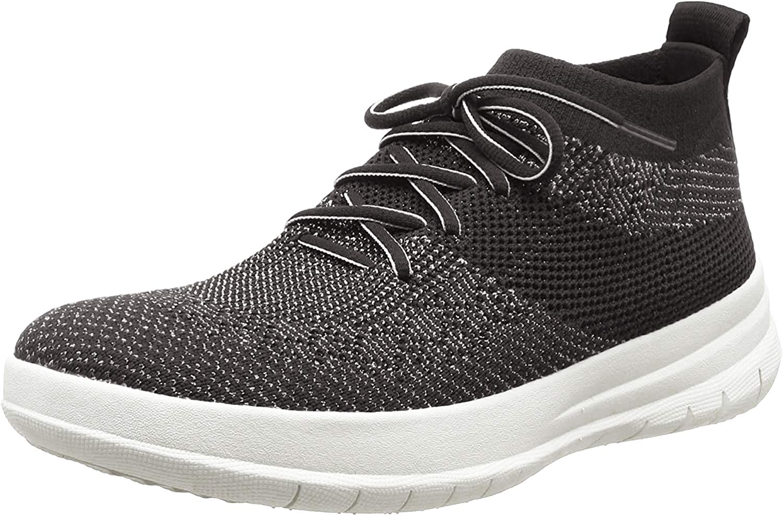FitFlop Uberknit Slip-on High Top Sneaker, Zapatillas Altas Mujer