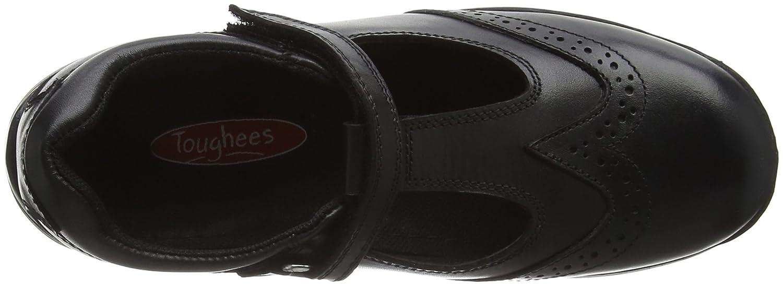 Toughees Shoes Janine T Bar Brogue, Zapatos Brogue, Niñas, Negro (Black), 27.5