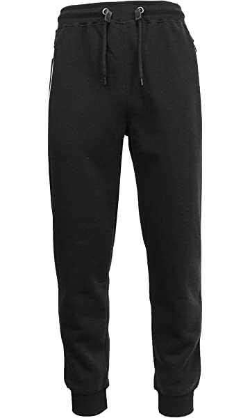 cdee30458297 Galaxy by Harvic Mens Tech Fleece Fitted Sweatpants With Heat Seal ...