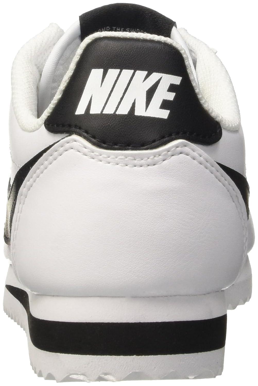 NIKE Women's B01DYXQB70 Classic Cortez Leather Casual Shoe B01DYXQB70 Women's 5 B(M) US|White/Black-white afcae7