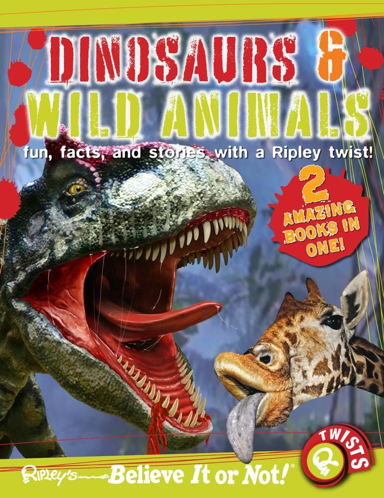 Download Ripley Twists : Dinosaurs & Wild Animals PDF