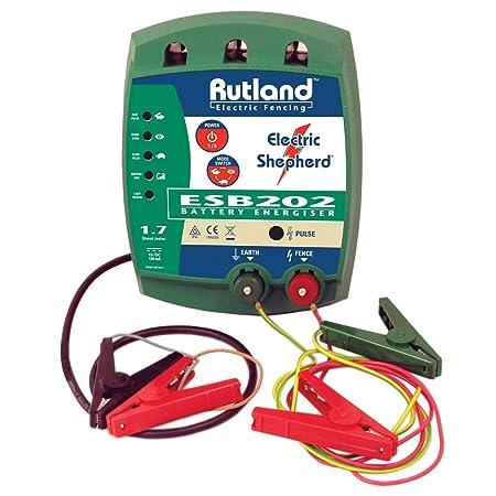 Rutland ESB 202 Battery Fence Energiser: Amazon co uk: DIY