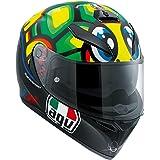 AGV K3 SV Rossi Tartaruga Casco talla XS