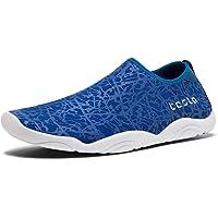 TSLA Men Women & Kids Slip-On Quick-Dry Minimal Beach Aqua Shoes Pool Beach Walking Running Lightweight Aqua Socks for…
