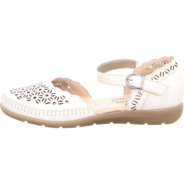 Rieker Mujer Botines marrón coñac, Color Blanco, Talla 42: Amazon.es: Zapatos y complementos