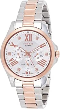 Reloj para Mujer Casio Sheen SHE-3806SPG-7AUDR: Amazon.es: Relojes