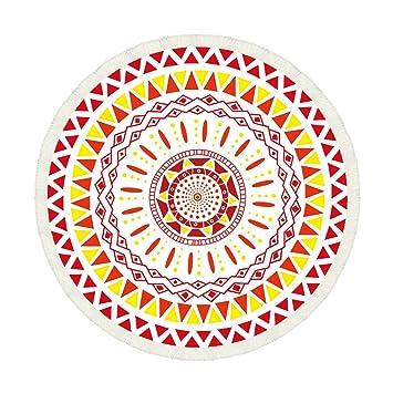 YRXDD Toalla de Playa Occidental de Color Flujo Circular de Sunscreen Mantón Seda Bufanda de Xia,el Color de la Imagen de 160 * 160 cm: Amazon.es: Deportes ...