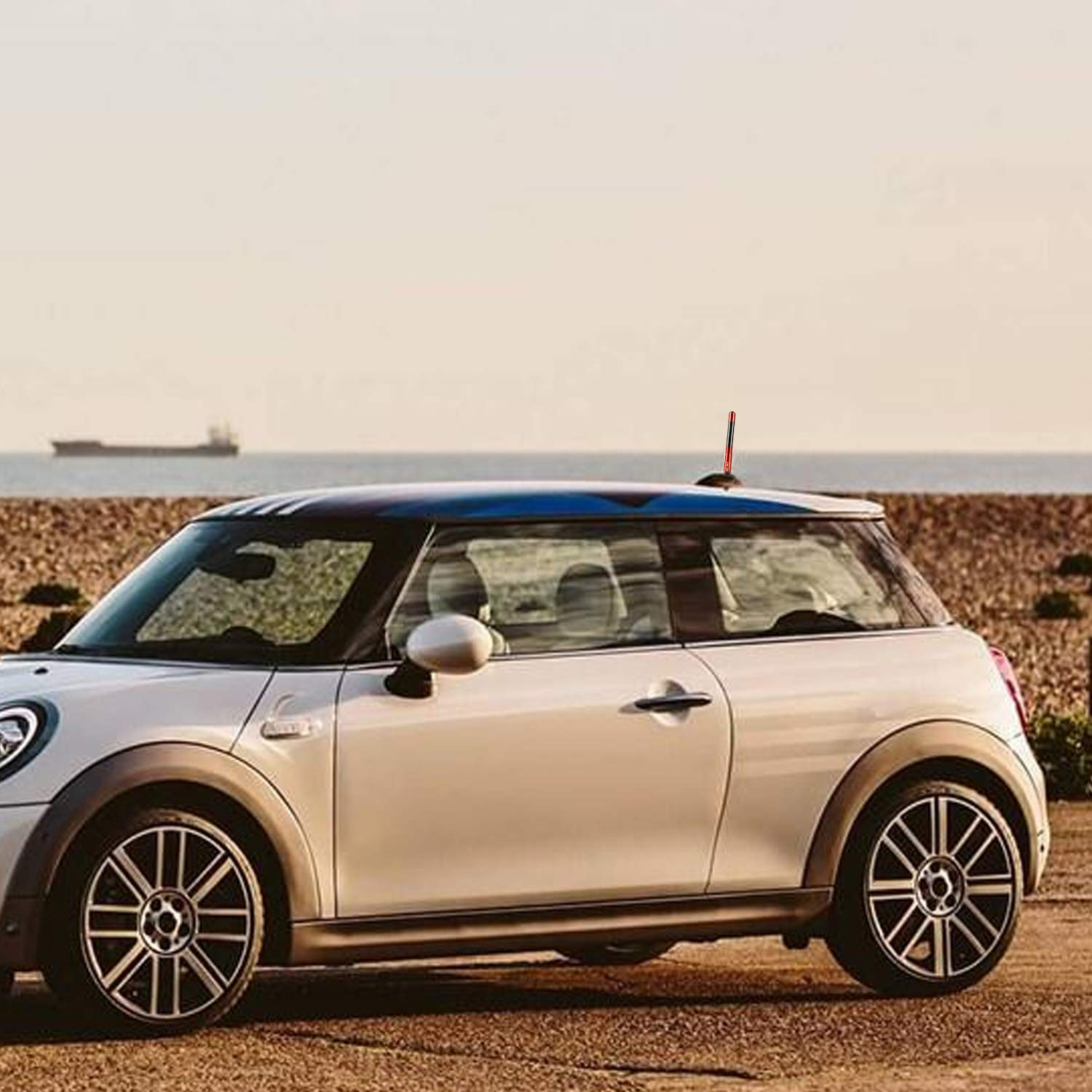 Cooper S Coupe or Roadster Black Will fit Any Mini Cooper The Stubby Antenna for Mini Cooper All Models Clubman Countryman Convertible